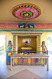 Architecture details of traditional Hindu temple Stock Photos