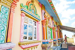 Architecture details of traditional Hindu temple Stock Photography