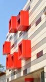 Architecture différente Image stock
