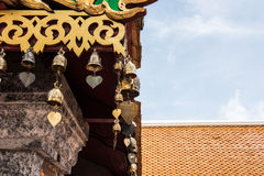 Architecture of Doi Suthep Temple Royalty Free Stock Photography