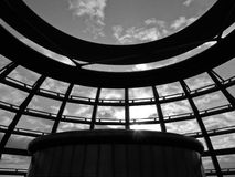 Berlin Reichstag dome. Architecture of the dome of the Reichstag berlin Royalty Free Stock Photography