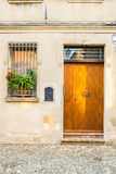 Architecture in the downtown of Ferrara Royalty Free Stock Image