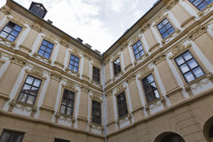 Architecture of the downtown in Graz, Austria. Stock Photography