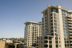 Architecture in Downtown San Diego Royalty Free Stock Photography
