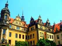 Architecture of Dresden Royalty Free Stock Photo