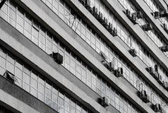 Architecture du bâtiment au centre commercial de Londrina Photographie stock libre de droits