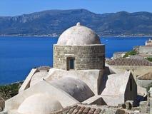 Architecture du grec ancien Images stock