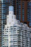 Architecture du sud de plage de Miami Photographie stock libre de droits
