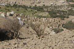Architecture du Yémen Image libre de droits