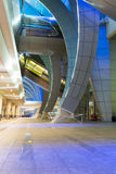 Architecture of Dubai International Airport Royalty Free Stock Images