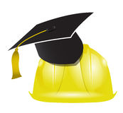 Architecture education graduation tassel Royalty Free Stock Photo