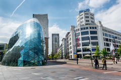 Architecture of Eindhoven Royalty Free Stock Images