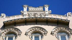 Architecture element art noveau. Architecure element art noveau europe latvia Stock Photos