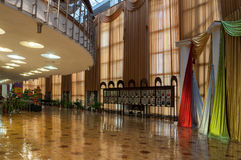 Architecture elements in the interior of Regional Drama Theater named after Fyodor Dostoevsky, Veliky Novgorod, Russia Royalty Free Stock Image