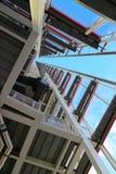 Architecture en acier et en verre de bâtiment Photo libre de droits