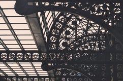Architecture en acier forgée Photographie stock libre de droits