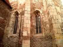 Architecture en pierre médiévale Photographie stock