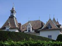 Architecture en Suisse Photos libres de droits