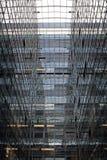 Architecture en verre et en acier Photos libres de droits
