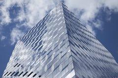 Architecture en verre moderne à New York City, Etats-Unis Photo stock