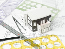 Architecture equipment Royalty Free Stock Images