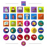 Architecture, equipment, material and other web icon in cartoon style. Tools, animals, tourism, icons in set collection. Architecture, equipment, material and Stock Photo