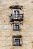 Architecture of Espinosa de los Monteros, Burgos Royalty Free Stock Photos