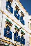 Architecture of Essaouira, Morocco Royalty Free Stock Photos