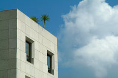 Architecture et nature photo stock