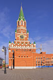 Architecture et traditions russes Iochkar-Ola Russie images stock