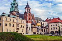 Architecture in Europe. Magical architectural structures in Europe, photo taken during voyages to Europe. Krakow Stock Image
