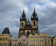 Architecture in Europe. Magical architectural structures in Europe, photo taken during voyages to Europe.Prague Stock Photography