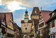 Architecture in Europe. Magical architectural structures in Europe, photo taken during voyages to Europe.Rotenburg Stock Photos