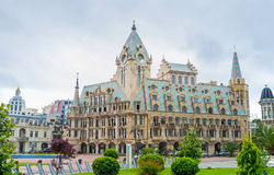 The architecture of the Europe Square in Batumi Royalty Free Stock Image