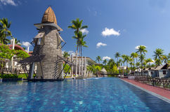 Architecture exterior with swimming pool of the SENTIDO Graceland Khao Lak Resort & Spa Stock Photos