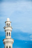 Architecture of floating Mosque in Kuala Terengganu, Malaysia Stock Image