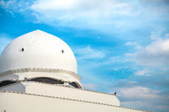 Architecture of floating Mosque in Kuala Terengganu, Malaysia Stock Photography