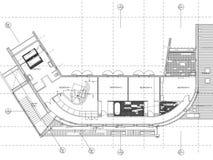 Architecture Floor plan background Stock Photo