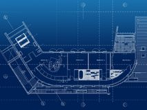Architecture Floor plan background Stock Photos