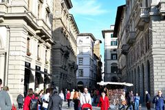 architecture of Florence Royalty Free Stock Photo