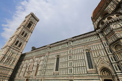 The architecture of Florence, Italy. Ancient buildings in Florence, Italy Stock Images