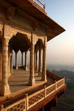 The architecture fragment. In fortress territory in the city of Gvalior, India Royalty Free Stock Photography