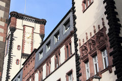 Architecture of Frankfurt am Main Stock Photography