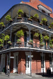 Architecture: French Quarter - New Orleans Royalty Free Stock Images
