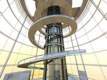 Architecture futuriste Photo stock