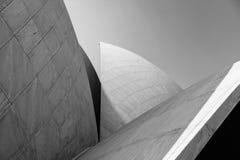 Architecture géométrique dans l'Inde Lotus Temple Photographie stock libre de droits