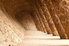 Architecture of Gaudi Stock Photo