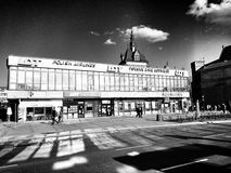 Architecture in Gdansk. Artistic look in black and white. Stock Photo