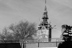 Architecture in Gdansk, Poland. Royalty Free Stock Photos