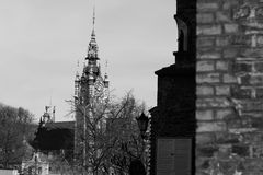 Architecture in Gdansk, Poland. Royalty Free Stock Images